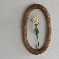 木彫りの壁掛け だえん