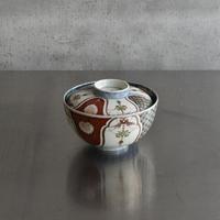 古道具部 色絵瓔珞蓋付碗