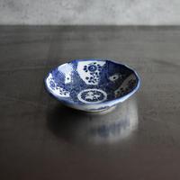 古道具部 印判皿 菊