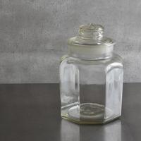 古道具部 八角硝子保存瓶