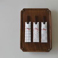 漆器屋の漆塗箸 箸袋のオマケ付