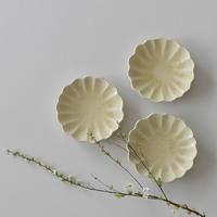 たくまポタリー ハナ 小皿 はちみつ釉