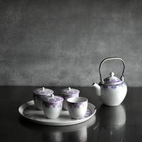 古道具部 東洋陶器 茶器セット 金継ぎ