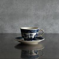 古道具部 ウィローパターンのカップ&ソーサー 1客