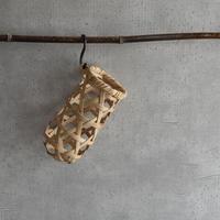 古道具部 竹の一輪挿し 2