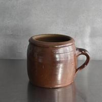 古道具部 フランス 陶器のスープポット