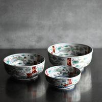 古道具部 色絵三鉢