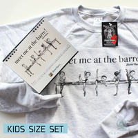 [Ballet Papier]PULLOVER AT THE BARRE KIDS(キッズサイズ) + 2020カレンダーセット