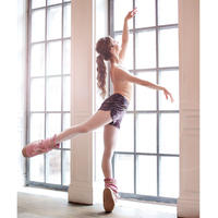 [Ballet Maniacs] Shorts Bonbon by Evgenia Obraztsova Dusty Plum