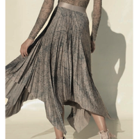 [Just A Corpse・予約商品] CELESTIAL PLEATED LONG SKIRT