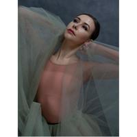 [Ballet Maniacs・Ready to Wear] Sagebrush Tulle-skirt Mini