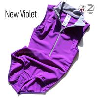 """[Zi dancewear] Zip leotard """"New Violet"""""""