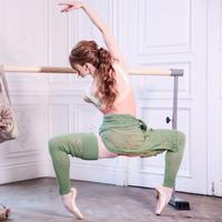 [予約商品・Ballet Maniacs] Leg warmers by Evgenia Obraztsova Green Apple