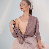 [Ballet Maniacs] Cardigan by Evgenia Obraztsova Dusty Lilac