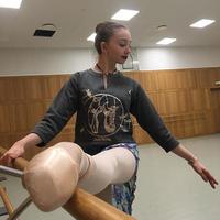 [Ballet Papier] CROPPED PULLOVER 'DANCE MOOD'