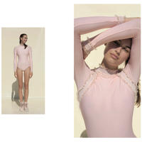 [Just A Corpse・予約商品] ELEANOR BACKLESS LEOTARD - BLUSH