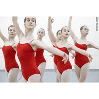 "[Zidans] 限定 Strap Leotard Zi. For Classes ""Scarlet"""