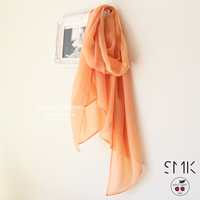 [S M K] SUNSET RECYCLED POLYESTER SCARF (SCARF01)