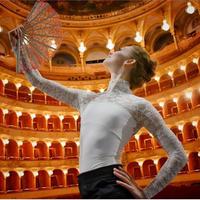 [予約商品・Ballet Maniacs] Leotard Casta Diva 2.0 by Evgenia Obraztsova Champagne