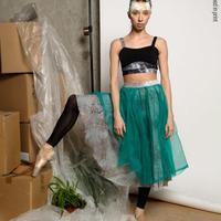 [Zidans] Safety netting tutu skirt(受注生産)