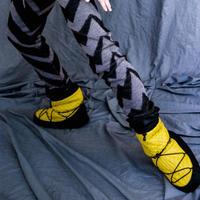 [Ballet Maniacs] Transformer booties Mustard by Igor Kolb