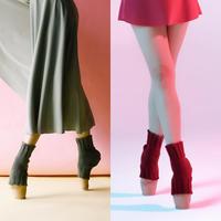 [Ballet Maniacs] Toeless socks by Kristina Kretova
