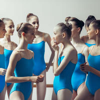 "[Zidans] 限定 Strap Leotard Zi. For Classes ""Sky Blue"""