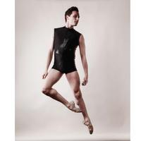 [予約販売・Ballet Maniacs] Unitard Balletman Black by Igor Kolb