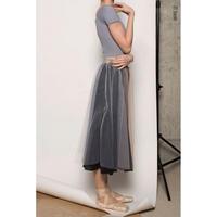 [予約商品・Zi dancewear] Basic rehearsal tulle skirt