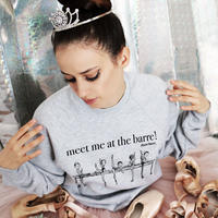 [Ballet Papier]PULLOVER AT THE BARRE KIDS(キッズサイズ)