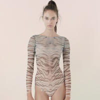 [Just A Corpse] MISS TIGRESS – ombre blue bodysuit