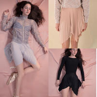 [Just A Corpse]  SUN-RAY – short pleated skirt 3 colours