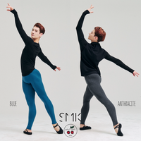 [S M K] MEN ORGANIC COTTON LEGGINGS (STK01MEN)