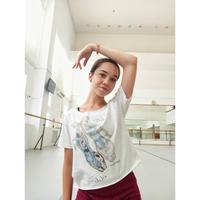 [Ballet Papier] T-SHIRT CROPPED 'POINTE'