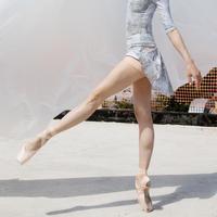 [予約商品・Zidans] The Skirt + Shorts Stretch, stained with the print Delicate Dirt