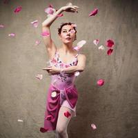 [Ballet Maniacs] Nijinsky Leotard Le Spectre de la Rose