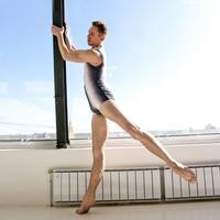 [予約販売・Ballet Maniacs] Unitard Balletman Print by Igor Kolb