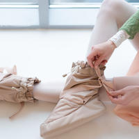[Ballet Maniacs] Booties Candy by Evgenia Obraztsova Pearly Beige