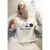 [Ballet Papier] Cropped Pullover 2020 Swan(単品)