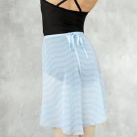"[Ballet Maniacs] Wrap Skirt ""Waves"""