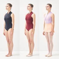 [S M K] ZIPPERED LEOTARD (LEO05_ZIP)