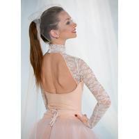 [予約商品・Ballet Maniacs] Leotard Casta Diva 2.0 by Evgenia Obraztsova Nude