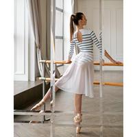 """[Ballet Maniacs] Wrap Skirt Midi """"Swan White"""""""