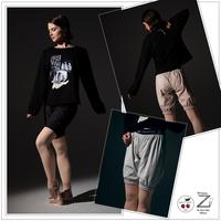 [予約商品・Zidans] Long warming sauna-shorts