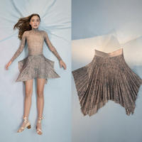 [Just A Corpse] CELESTIAL PLEATED SHORT SKIRT