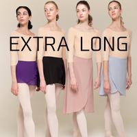 [Zi dancewear] Wrap skirt ・EL丈:4型