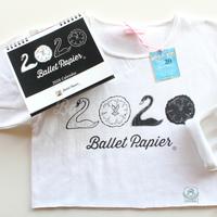 [Ballet Papier] Cropped Pullover 2020 Swan + 2020カレンダーセット