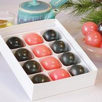 【ぷちっと楽しい】玉家の玉羊羹3種類12個入(こしあん・ピーチ・黒糖)