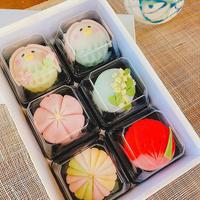 【4月20日までの限定販売!食べるのがもったいない?!】上生菓子6個セット(アマビエちゃん2個・季節の練り切り4個)