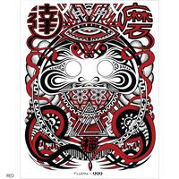 Plasma Daruma Poster (Male)